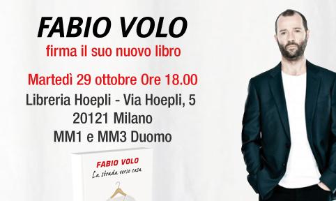FABIO VOLO ALLA LIBRERIA HOEPLI